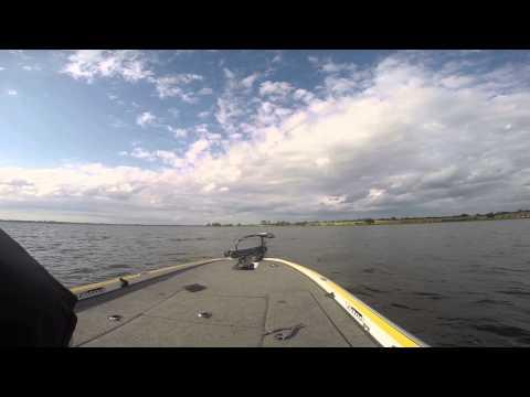 FISHING ON LAKE PLACID USING A CAROLINA RIG.