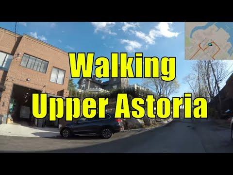 ⁴ᴷ Walking Tour of East Elmhurst & Upper Astoria, Queens, NYC (GPS Overlay)