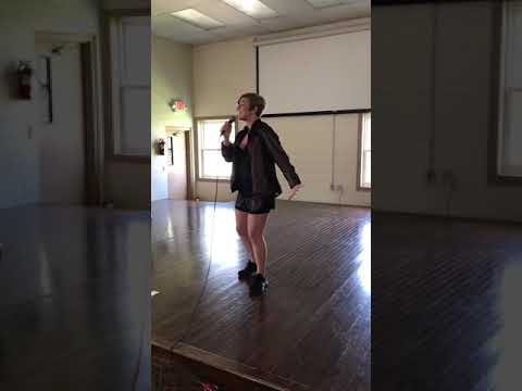 """""""Chandelier"""" by Sia, Original key, audition video for Accolade 2018-2019"""