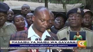 Mtu mmoja amekamatwa kuhusiana na kashfa ya naibu wa Gavana wa Kirinyaga
