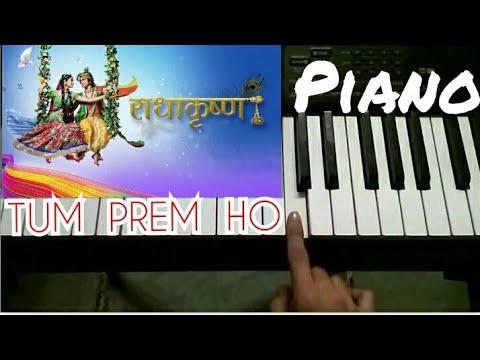 Tum Prem Ho Radha Krishna Piano Cover | Serial Star Bharat | Tum Prem Ho Tum Preet Ho Star Bharat