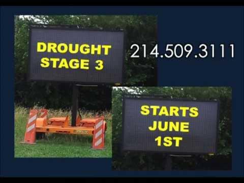 City of Allen Stage 3 Water Restrictions Effective June 1