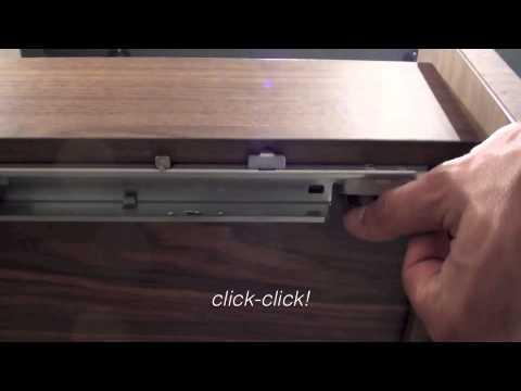 Alessi One Aushngen der Schubladen 2  YouTube