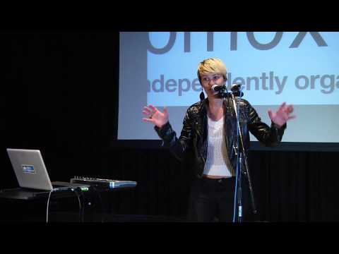A live looping solo artist: Emily Spiller at TEDxComoxValley