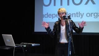 A live looping solo artist: Emily Spiller at TEDxComoxValley