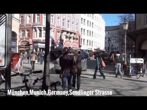 München,Munich City,Germany mit Text und Musik