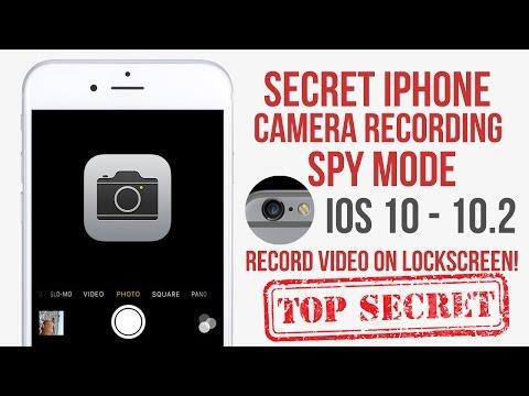 Secret IPhone Camera Recording Mode IOS 10 - 10.2 No Jailbreak (Glitch)