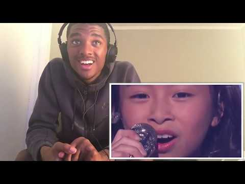 "Celine Tam: 9-Year-Old Stuns The Audience With ""How Far I'll Go"" REACTION!!"