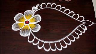 Happy New Year 2020 Rangoli and kolam Designs by easy rangoli Suneetha New year Muggulu