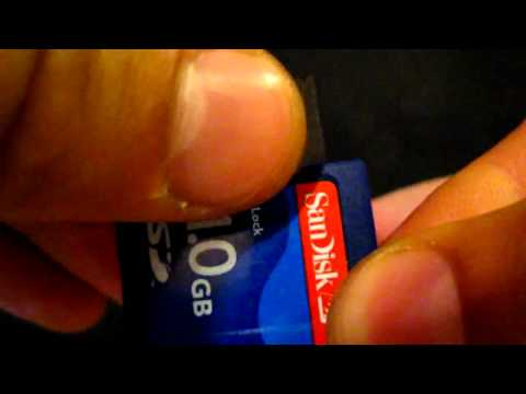 How to repair broken lock on SD cards