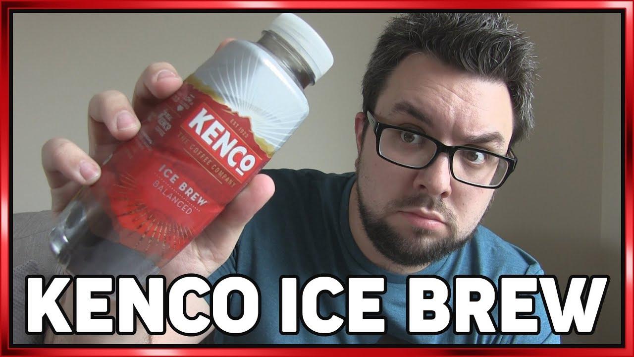 Kenco Coffee Ice Brew Balanced Review Lemon
