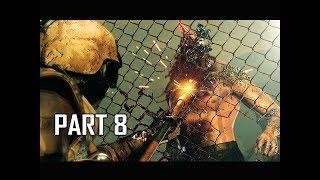 METAL GEAR SURVIVE Walkthrough Part 8 - Hunger Games (PS4 Pro 4K Let's Play)
