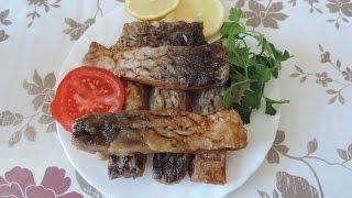 Карп жареный с чесноком  Очень вкусная и сочная рыбка