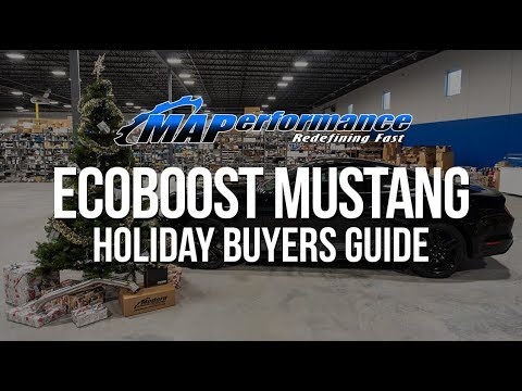 Ecoboost Mustang 🎅 Holiday Buyers Guide