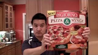 Video Review of DiGiorno Pizza & Wyngz: Freezerburns (Ep395)