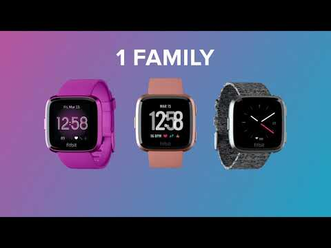 Fitbit Versa | Smartwatch Family