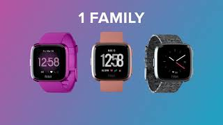 Introducing the Fitbit Versa Family