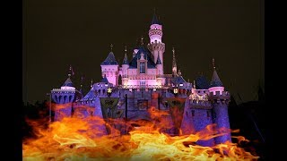 DISNEYLAND FIGHT CAUGHT FIRE...BUT ECLIPSED #TwoWhiteFights