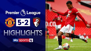 Greenwood at the double as Man Utd hammer Bournemouth! | Man Utd 5-2 Bournemouth | EPL Highlights