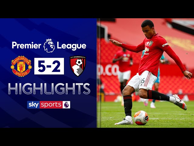 Greenwood at the double as Man Utd hammer Bournemouth! | Man Utd 5-2 Bournemouth |  EPL Highlights - Sky Sports Football