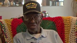 Richard Overton, Oldest WWII Veteran alive today 110 years old