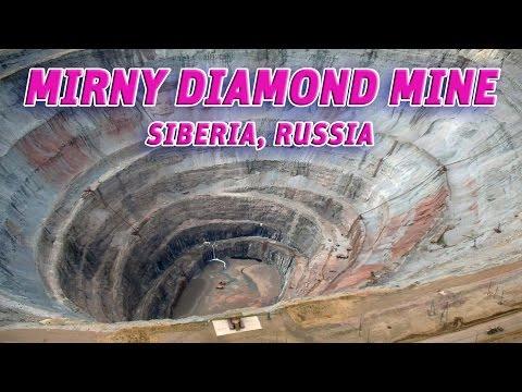 The Giant Holes: Mirny Diamond Mine, Siberia- Russia #Vendora