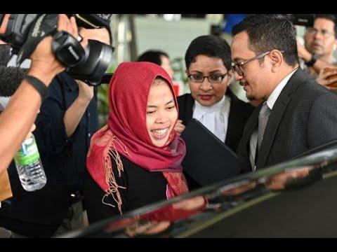 Dibebaskan, Siti Aisyah: Saya Sangat Bahagia, Nggak Nyangka