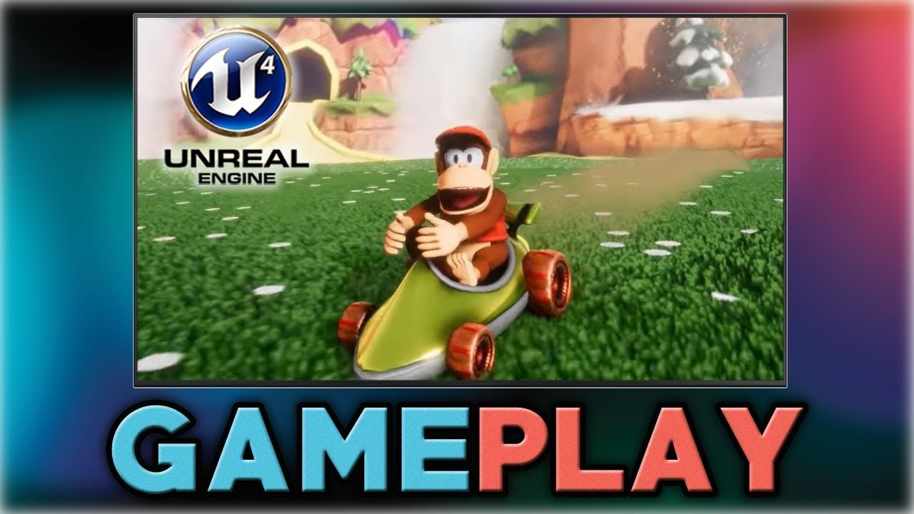 Fan-Made Diddy Kong Racing 64 Running on Unreal Engine 4 Looks