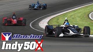 iRacing Indianapolis 50 with the Dallara IR18