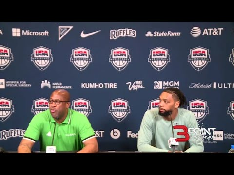 Nigeria Basketball Team's post-game presser after a 94-71 win over Argentina