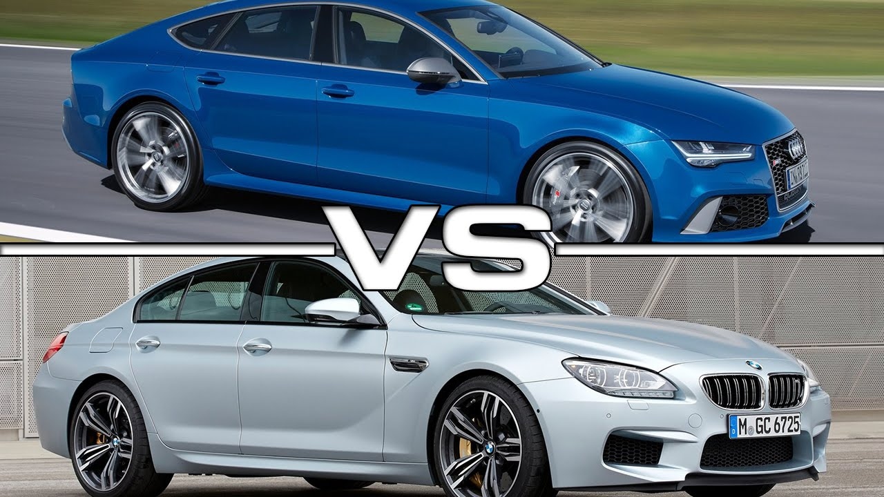 audi rs7 sportback vs bmw m6 gran coupe youtube. Black Bedroom Furniture Sets. Home Design Ideas