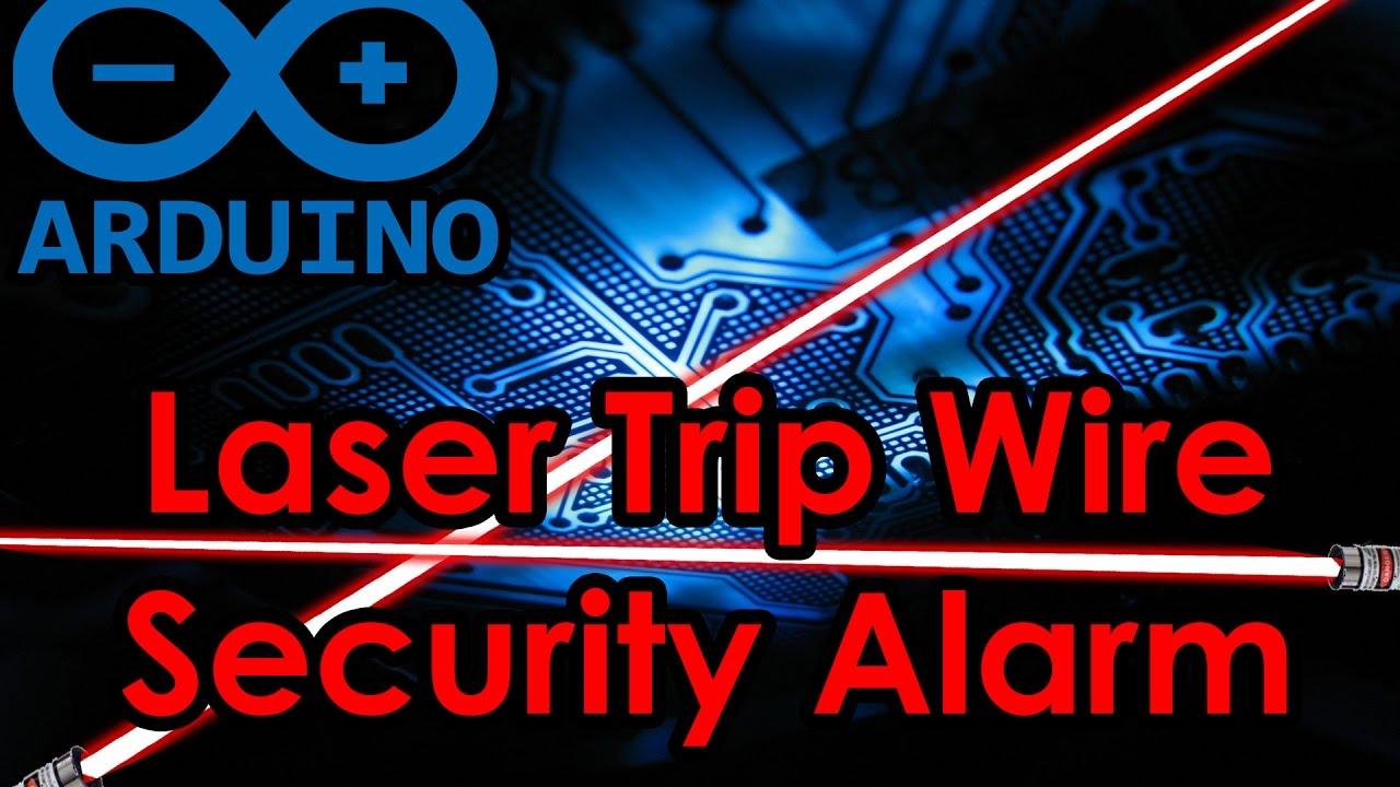 Laser Trip Wire Security Alarm Quick Basic Easy Arduino Code Wiring Diagram Schematic