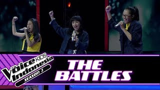 "Jelita vs Ninaya vs Nadhia ""Be Brave"" 