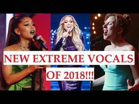 NEW EXTREME VOCALS of 2018!!!