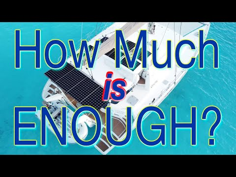 How to manage electrical power on a sailboat using NO fossil fuels!