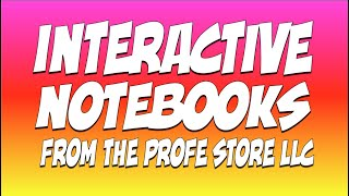 Interactive Notebook Preview Video