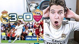REACCIONES DE UN HINCHA Real Madrid vs Roma 3-0 *CON MI PADRE* [ByDiegoX10]