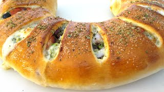 Stromboli Recipe - How to make Stromboli Supreme - PoorMansGourmet