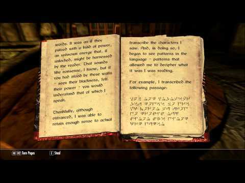 Let's Read Dragon Language: Myth No More (Let's Read The Books Of Skyrim, Book 302)
