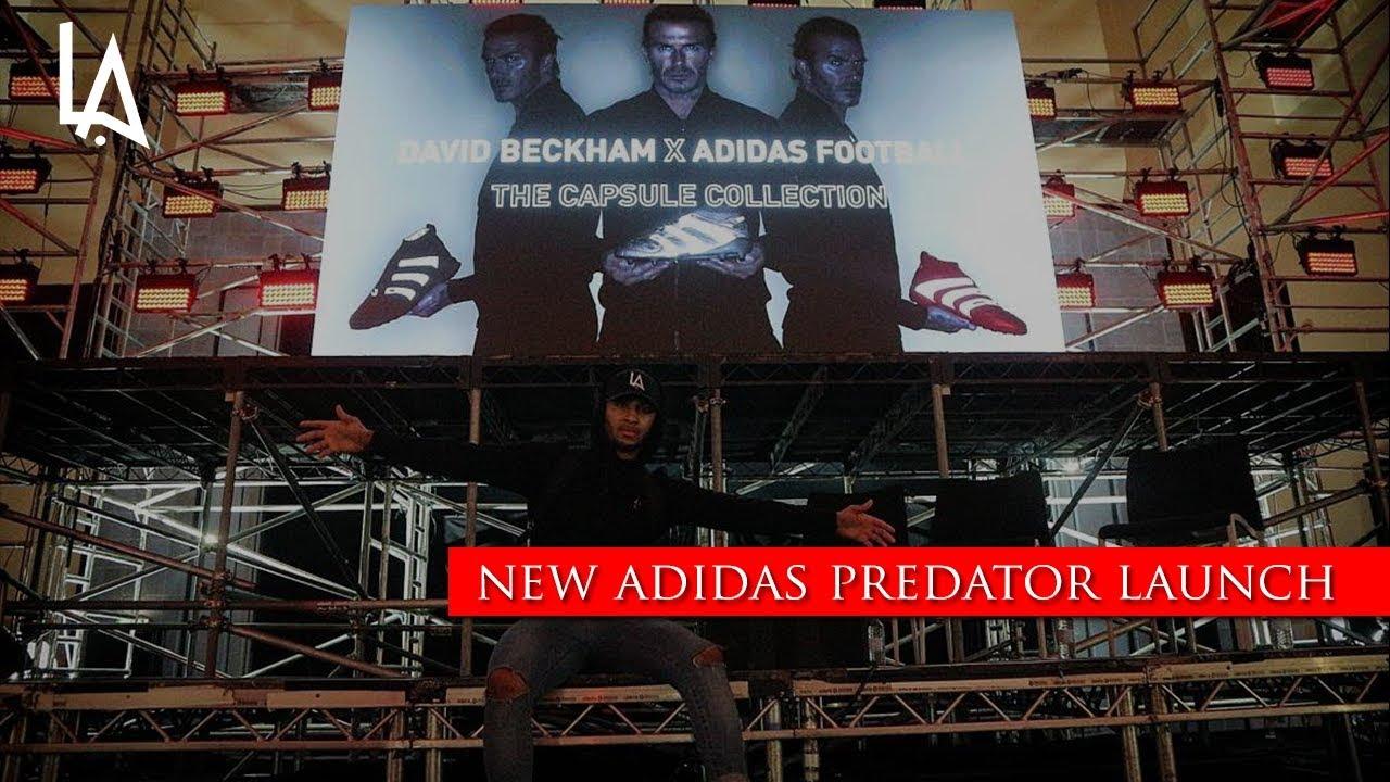 hot sale online 60d2c 66bfb DAVID BECKHAM X ADIDAS PREDATOR ...