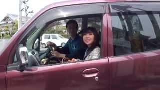 可愛い彼女とドライブ Toppo H82A Roadest Mitsubishi Motors 三菱・トッポ