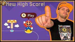 We're Breaking Records! Super Expert Endless #37: Super Mario Maker 2