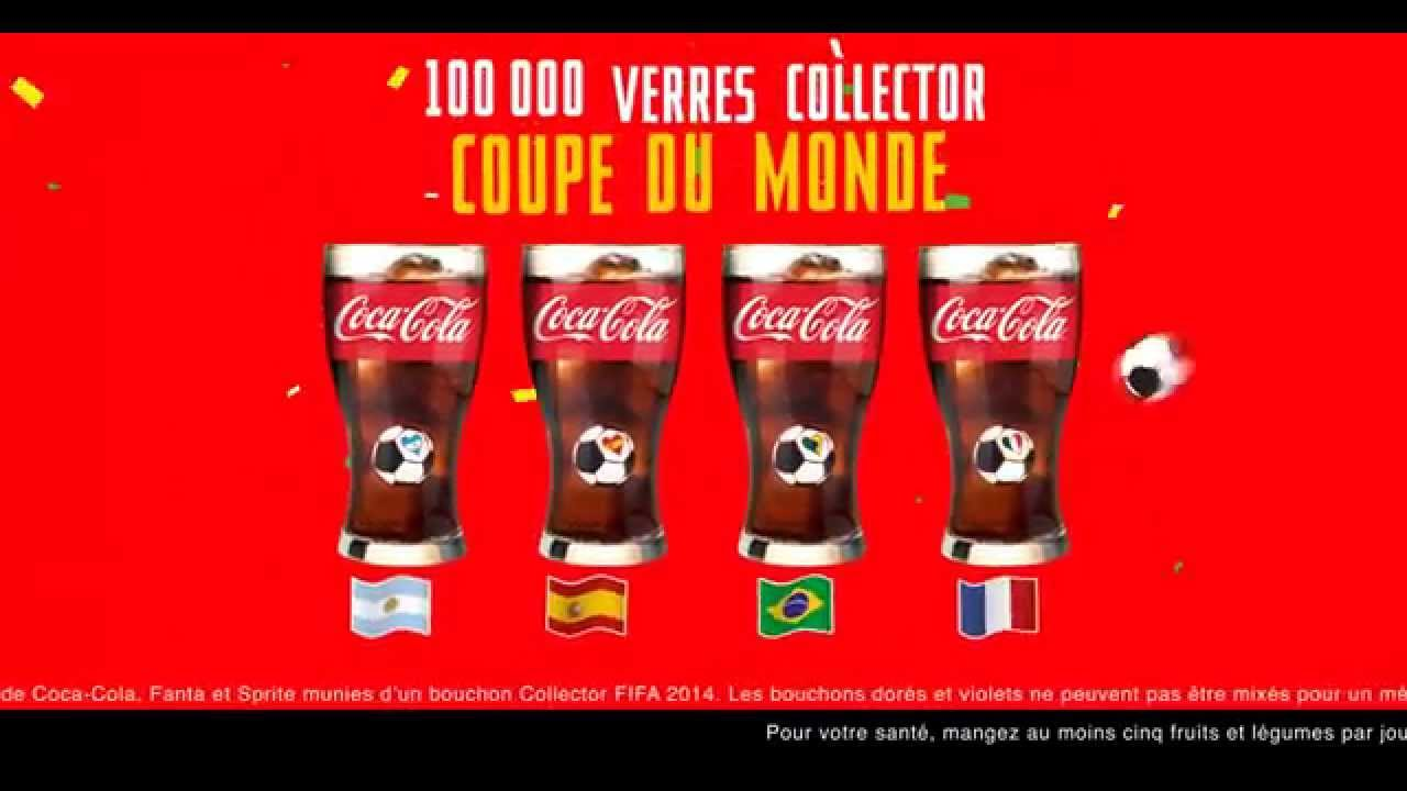coca cola campagne tv verres collector coupe du monde 2014 youtube. Black Bedroom Furniture Sets. Home Design Ideas