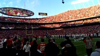 The National Anthem that made Knowshon Moreno cry!