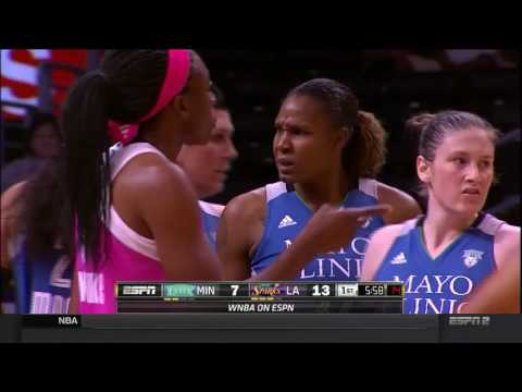 Los Angeles Sparks vs. Minnesota Lynx 06/09/2016