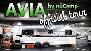 AVIA Travel Trailer Tour: Official Tour from RVX