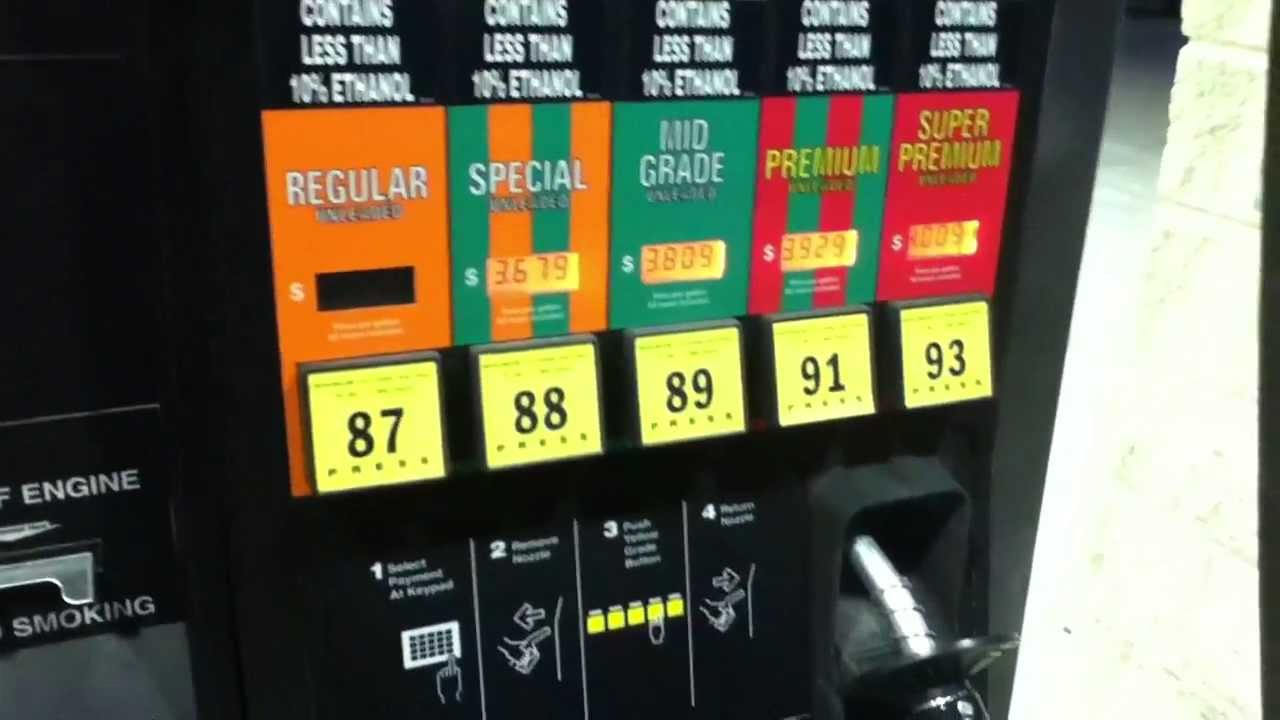 Find A Gas Station >> Newly Installed Gas Pumps At 7-11 Store - YouTube