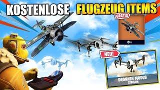 KOSTENLOSE Flugzeug Belohnung und GEHEIME DROHNE | Fortnite Leaks Deutsch