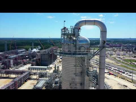 Sasol's Lake Charles Chemicals Project | EO/EG Flyover