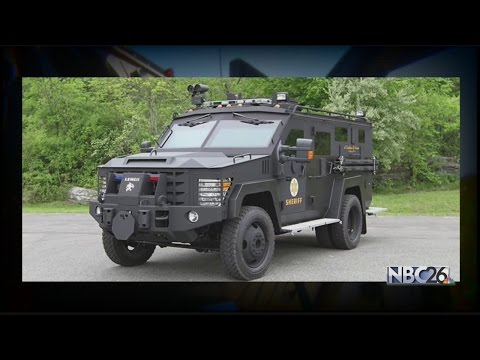 Local Sheriff's Department gets approval for new armored police vehicle